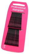 40 Professional Kirby Hair Grips Black