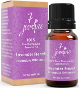 Premium Lavender 100% Pure & Natural Therapeutic Grade Essential Oil. 10 ml - Aromatherapy, Massage, Sleeping, Antimicrobial and Sourced From France - By 7 Jardins