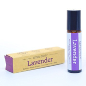 Lavender Essential Oil Roll-On Bottle by Simply Earth - 10ml, 100% Pure Therapeutic Grade