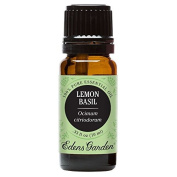 Lemon Basil 100% Pure Therapeutic Grade Essential Oil by Edens Garden - 10 ml