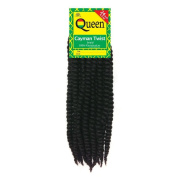 Sepia Queen Cayman Twist Braid 60cm , Jumbo Senegalese Twist Crochet Extensions