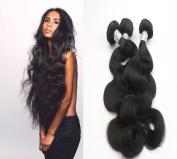Unprocessed virgin human hair extension 10a grade hair weave