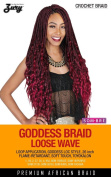 ZURY GODDESS BRAID LOOSE WAVE SYNTHETIC BRAIDING HAIR CROCHET BRAID - colour 2
