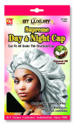 Beauty Town Day & Night Cap (Jumbo Size) White