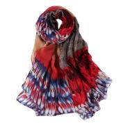 Lisingtool Women Long Soft Wrap scarf Ladies Shawl Voile Scarf Scarves
