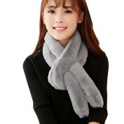 Datework Women Winter Warm Plush Scarf