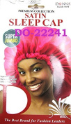 Donna Premium Super Jumbo Satin Sleep Cap Assorted Cap
