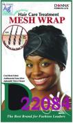 Donna Hair Care Treatment Mesh Wrap Black