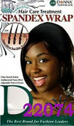 Donna Hair Care Treatment Spandex Wrap One Size Black