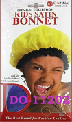 Donna Premium Kids Satin Bonnet One Size Assorted Colour
