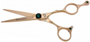 Kissaki Hair Scissors Tsuchi 5.5″ Hair Scissors Rose Gold Titanium Salon Hair Cutting Shears