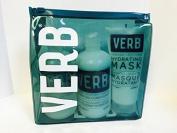 Verb Hydrating Shampoo, Conditioner & Hydrating Mask Bag Gift Set