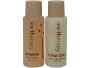 Eartherapy Shampoo and Conditioner Lot of 18 (9 of each) 30ml bottles. Total of 530ml by Eartherapy