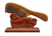 ICEGREY Anti Static Rake Comb Anti-Hair Loss Sandalwood Hair Comb