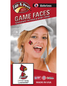 NCAA Louisville Cardinals 4-Pack Temporary Tattoos