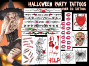 Halloween Party Tattoos #1