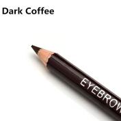 Interesting Waterproof Eye Brow Black Brown Eyebrow Pen Pencil With Brush Makeup Cosmetic