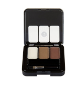Womens Absolute New York Travel Size Trio HD Powder Eyebrow Kit AEBK