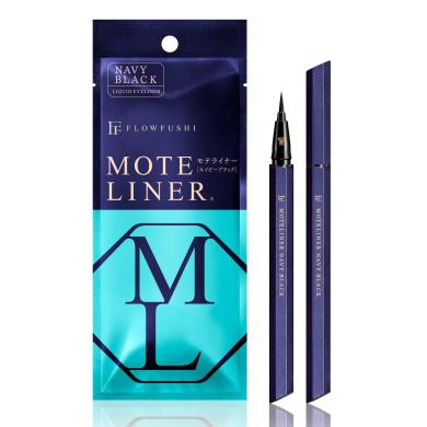 FLOWFUSHI MOTE LINER Liquid NvBk (Navy Black)