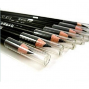 YANQINA 2PCS/PACK EyeLiner Smooth Waterproof Cosmetic Beauty Makeup Eyeliner Pencil