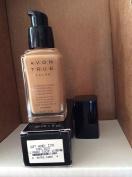 Avon TRUE Colour Ideal Flawless Liquid Foundation broad spectrum SPF 15 sunscreen SOFT HONEY