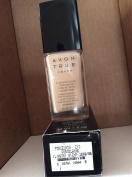 Avon TRUE Colour Ideal Flawless Liquid Foundation broad spectrum SPF 15 sunscreen PORCELAIN