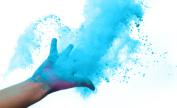 Holi Colour Powder True Blue 10 Pack of 70 Grammes Each