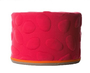 Nook Sleep Systems Soft Organic Pebble Pouffe with Liquid-Resistant Wrap Cover