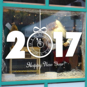 Gotd New Year 2017 Merry Christmas Wall Sticker Home Shop Windows Decals Decor