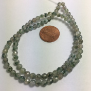 Natural Gemstone Faceted Round Beads, 15.5 Inch Jewellery Making Beads