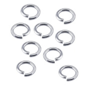 Wholesale 18GaNickel Silver Jump Ring 6 MM O/D