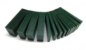 WAX CARVING SLICES ASSORTMENT GREEN WAX DESIGN CARVE jewellery MODELS