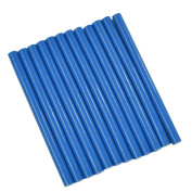 GlueSticksDirect Royal Blue Coloured Glue Sticks mini X 10cm 12 Sticks