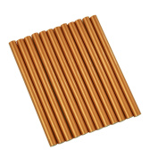 GlueSticksDirect Copper Metallic Coloured Glue Sticks mini X 10cm 12 Sticks