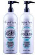 Original Sprout Natural Shampoo & Deep Conditioner Set 980ml