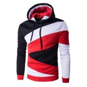 Mens Outwear,Neartime Long Sleeve Hoodie Hooded Sweater Tops Jacket Coat