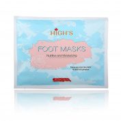 HIGH'S Nutritive Home Spa Manicure Hand Mask Moisturising Socks, Long