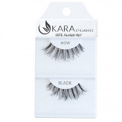Kara Beauty 100% Human Hair False Eyelashes Demi Wispies- DW with Adhesive