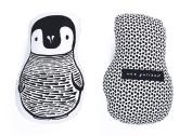 Wee Gallery Nursery Friends Throw Pillows, Penguin