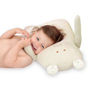 Syshion 100% Organic Cotton Toddler Baby Pillow toy(Cluddy Rabbit ) Suitable From Newborn to 5 Years Old