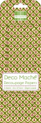 Christmas Icon Repeat Deco Mache x 3 Tissue Patch Paper Sheet Craft