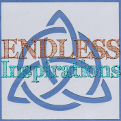 Endless Inspirations Original Stencil, 15cm x 15cm , Celtic Trinity Knot