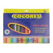 Clobeau Assorted Colours 36 Pcs Coloured Pencil Professional Premier Soft Core Pencil for Art Drawing Sketching Painting Adult Colouring Book Secret Garden