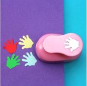 Since 2-2.5cm hand shape EVA foam craft punch paper punch cutter for greeting card handmade ,Scrapbook diy puncher,Random Colour