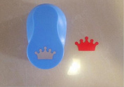 Since 2-2.5cm crown shape EVA foam craft punch paper punch cutter for greeting card handmade ,Scrapbook diy puncher,Random Colour and Design