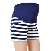 Luxbody(TM) New Maternity High Waist Women Shorts for Spring Summer Striped Shorts Pregnant Women Short Trousers M/L/XL Panties YYT267