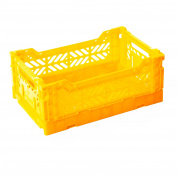 AY-KASA Folding Basket , Collapsible Storage Bin/Container
