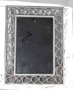 PICTURE FRAME WITH HEARTS