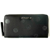 Kate Spade New York Haven Lane Polka Dot Neda WLRU2695 Black Glitter