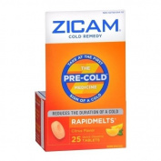 Zicam Cold Remedy RapidMelts Citrus Flavour 25 EA - Buy Packs and SAVE